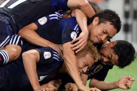Yaponiya-2014 Dünya Kubokunun ilk komandası