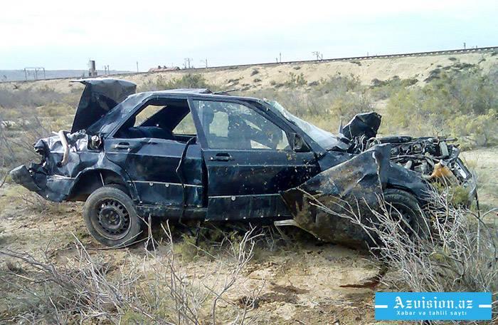 Ötən gün 5 nəfər yol qəzasında yaralanıb