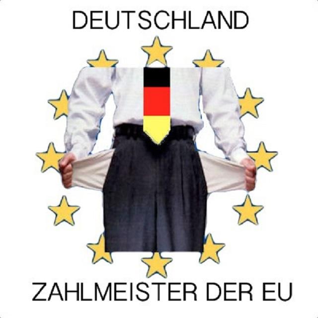 Deutschland ist der Zahlmeister in Europa