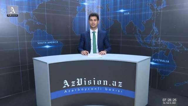 AzVision Nachrichten: Alman dilində günün əsas xəbərləri (15 fevral) - VİDEO