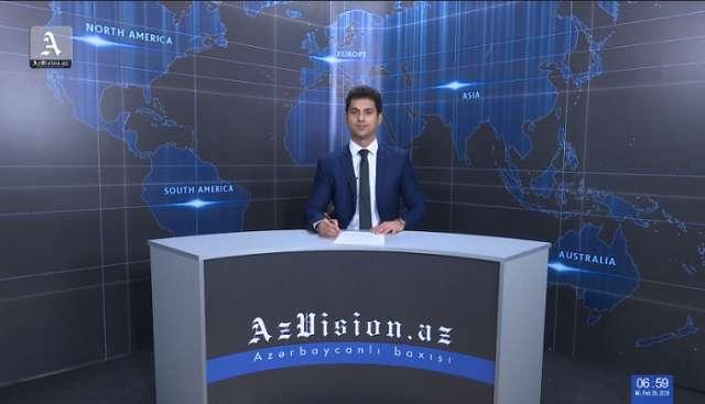AzVision Nachrichten: Alman dilində günün əsas xəbərləri (28 fevral) - VİDEO