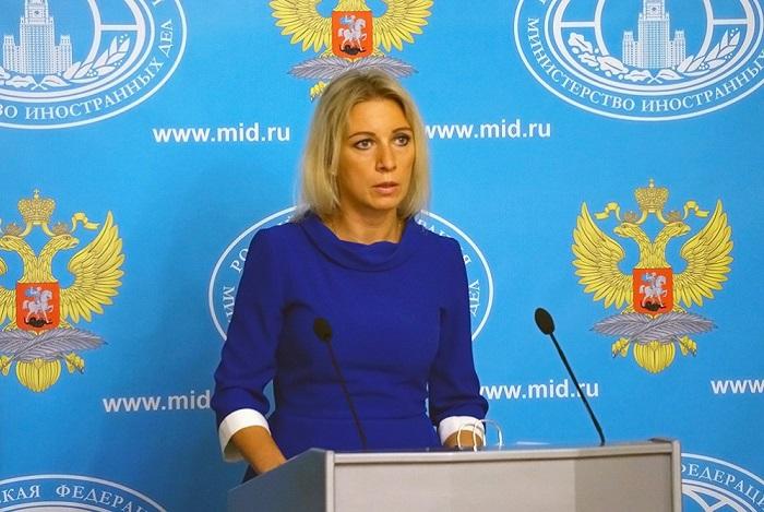 """Zakharova: """"Artsakh Republik"""" hat keine Delegation in Moskau"""