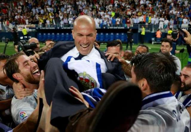 Zinedine Zidane re-appointed as Real Madrid