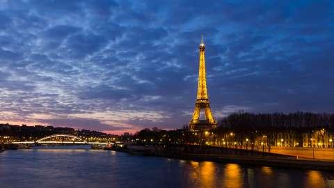 ночной Париж без смс